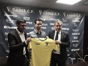 Jandro ya viste los colores del Cádiz