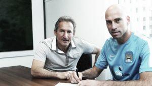 """Caballero: """"En el City solo se piensa en fútbol"""""""