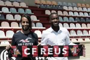 Mario Ortiz y Shaq Moore, presentados como nuevos jugadores del CF Reus