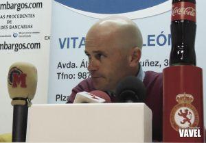 """Javier Cabello: """"Nuestras opciones crecen con el apoyo de la grada"""""""