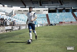 Leandro Cabrera, presencia física para la zaga blanquilla