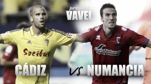 Previa Cádiz CF - CD Numancia: ganar para volver a creer