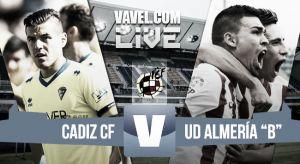 Resultado Cádiz - Almería B en directo (3-0)