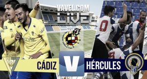 Resultado Cádiz - Hércules en Playoffs Ascenso a Segunda 2015 (1-0)