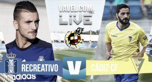 Resultado Recreativo de Huelva - Cádiz en Segunda B 2015 (0-0)