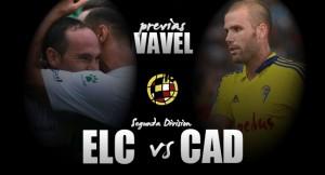 Previa Elche CF - Cádiz CF: en el punto de partida
