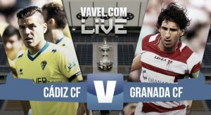 Resultado Cádiz vs Granada en el trofeo Ramón de Carranza 2015 (1-3)