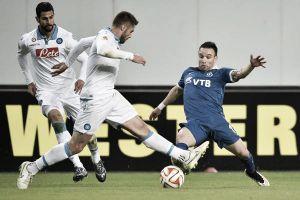 0-0 a Mosca: il Napoli è ai quarti