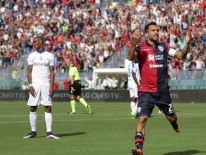 Serie A, tris del Cagliari: Atalanta stesa
