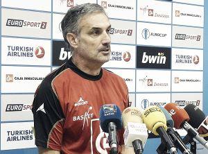 """José Luis Abós: """"La clave ha estado en mantener la intensidad durante todo el partido"""""""