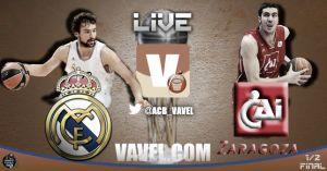 Real Madrid - CAI Zaragoza, semifinales de la Copa del Rey, en directo online