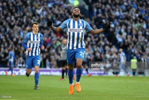 Chris Hughton 'delighted' for goal-scoring debutant Jurgen Locadia
