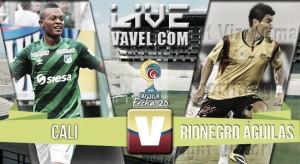 Resultado Cali vs Rionegro Águilas por la Liga Águila 2016 (3-1)