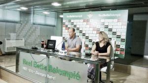 """Calderón: """"Lo importante es que el Betis se organice"""""""