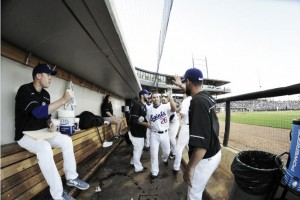 Mark Hamburger throws another complete game, leads St. Paul Saints to 16-0 victory