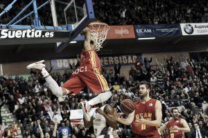 Calendario del UCAM Murcia para la temporada 2015/16