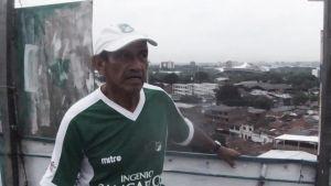 """El """"Castillo Verde"""", una pasión que rompe los límites"""