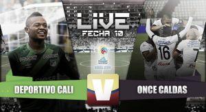 Resultado Deportivo Cali - Once Caldas en Liga Águila 2015 - II (1-4)