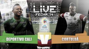 Resultado Deportivo Cali vs Cortuluá (1-1)