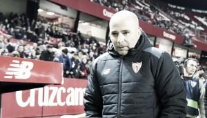 """Jorge Sampaoli: """"Jugar con uno menos todo el partido significa mucho"""""""