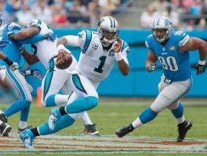 Panthers mantiene su perfil, volvió Newton y superó a Detroit