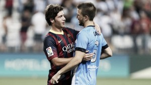 Sandro y Jony, héroes del Málaga-Barcelona