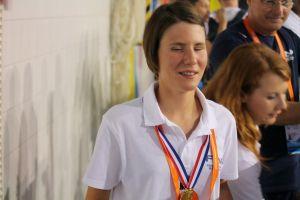 Nuoto paralimpico: Cecilia Camellini cala il tris