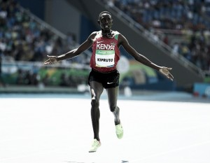 Rio 2016: Conseslus Kipruto takes 3000-meter Steeplechase gold ahead of Evan Jager