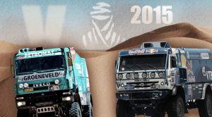 Dakar 2015: De Rooy, contra los todopoderosos Kamaz