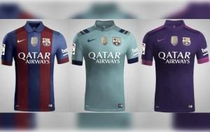 Camisetas del Barça 'retro' para la temporada 2016-2017