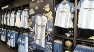 Gran acogida de la nueva equipación del Málaga CF