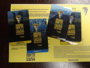 El Cádiz presenta la campaña de abonados 2013-14