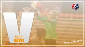Jane Campbell named NWSL Player of the Week for Week 17
