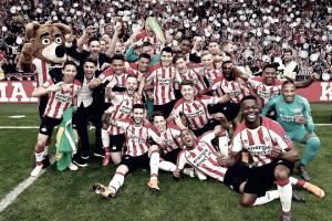 El PSV golea y se coronan campeones de la liga