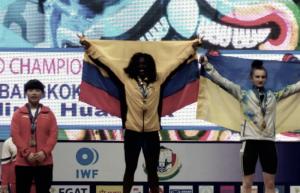 Colombia presente en el Campeonato Mundial de pesas Sub-17.