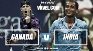 Copa Davis 2017. Previa Canadá - India: ante la gran oportunidad
