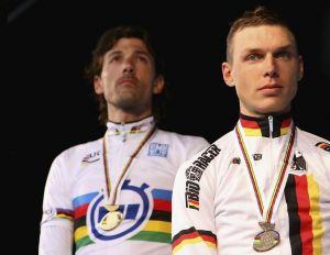 Cancellara y Martin, dominadores del crono mundial