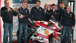 El equipo Althea Racing presenta su nueva moto