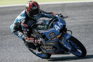 Moto3 - Seconda manche di libere, Canet davanti. Bene Fenati, Mir al rallentatore