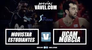 Movistar Estudiantes - UCAM Murcia: Los universitarios vuelven al colegio para seguir ganando