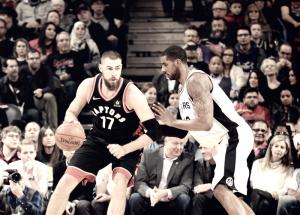 NBA - Toronto è imperfetta ma gli Spurs si arrendono nel finale (86-83)