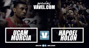 UCAM Murcia - Hapoel Holon: El tercio comienza su era en Europa