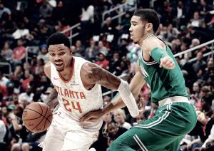 NBA - I Celtics non brillano ma espugnano la Philips Arena di Atlanta