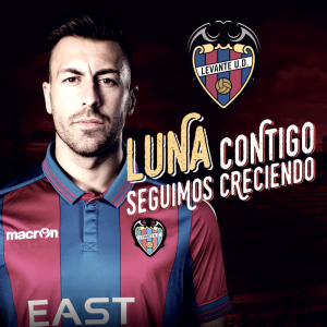 Antonio Luna, primer fichaje de un Levante UD de Primera
