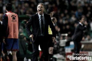 """Caparrós: """"Queremos que haya cada vez más rivalidad con el Valencia"""""""