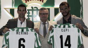 Presentados Merino y Capi como técnicos del filial