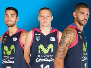 Los capitanes de Movistar Estudiantes