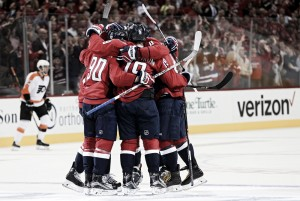 Washington Capitals - Philadelphia Flyers Eastern Conference Quarterfinals Game 2 preview