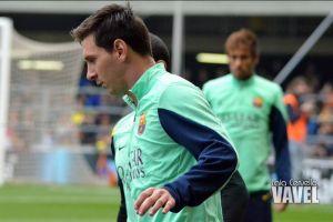 """Messi: """"Todavía me falta un poquito, pero me siento muy bien"""""""