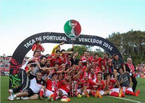 El Benfica consigue el triplete portugués